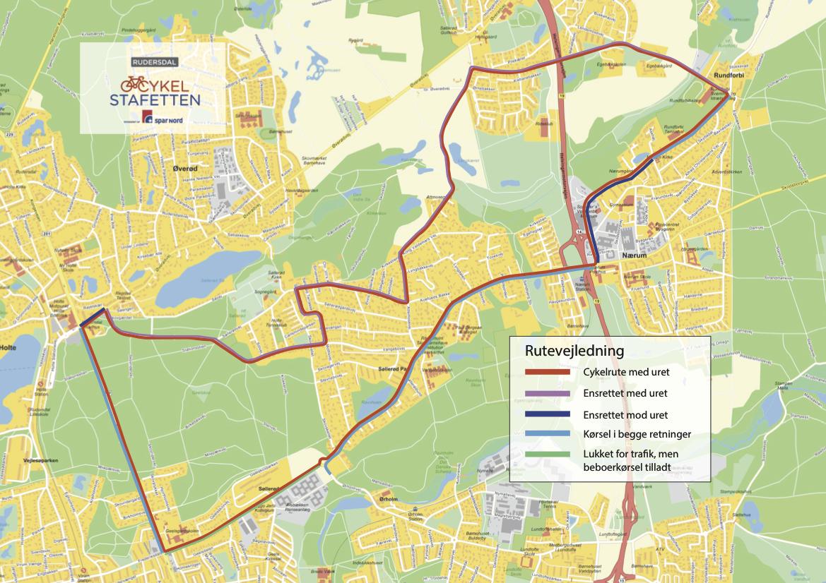 kort over rudersdal kommune